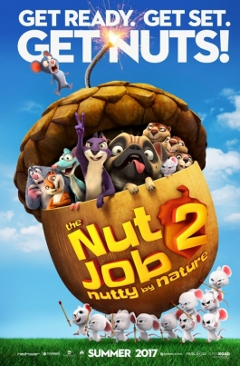 Реальная белка 2The Nut Job 2: Nutty by Nature постер