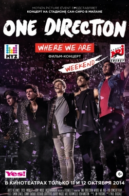 One Direction: Где мы сейчасOne Direction: Where We Are — The Concert Film постер