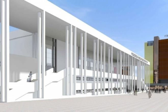 На строительство нового дворца спорта на Молодогвардейской выделили 390 млн рублей