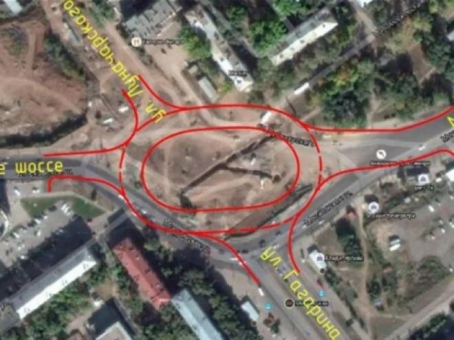 Сегодня в Самаре открыто движение по кольцу на Луначарского