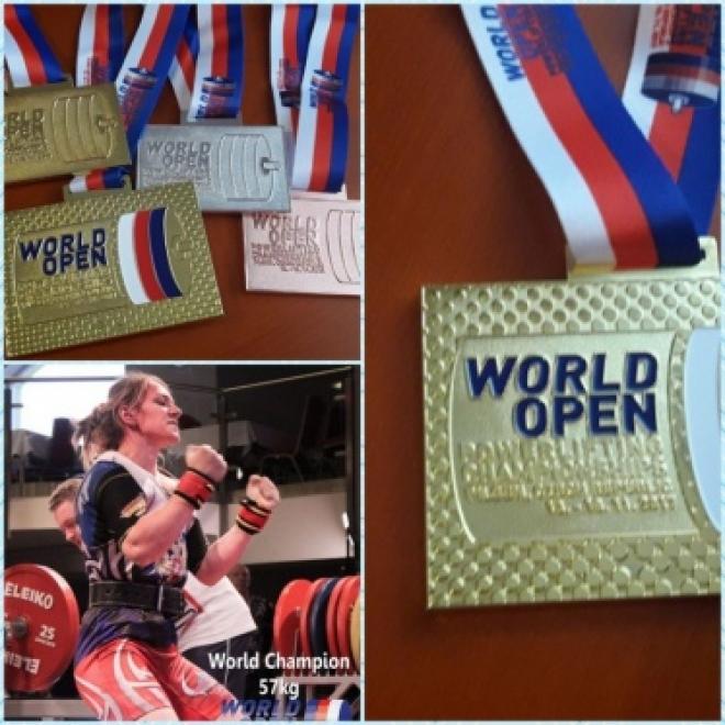 Спортсменка из Самарской области привезла золото с Чемпионата мира по пауэрлифтингу в Чехии