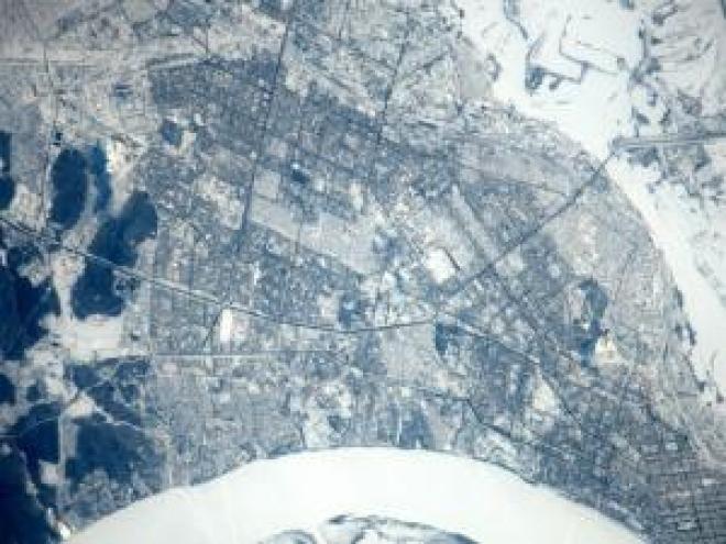 Космонавты показали жителям Самары город из космоса