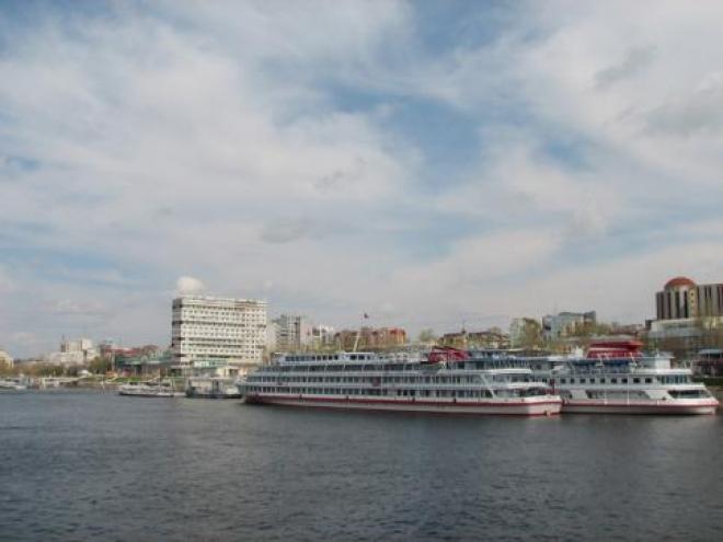 В акватории Самары круизные лайнеры пройдут парадным ходом