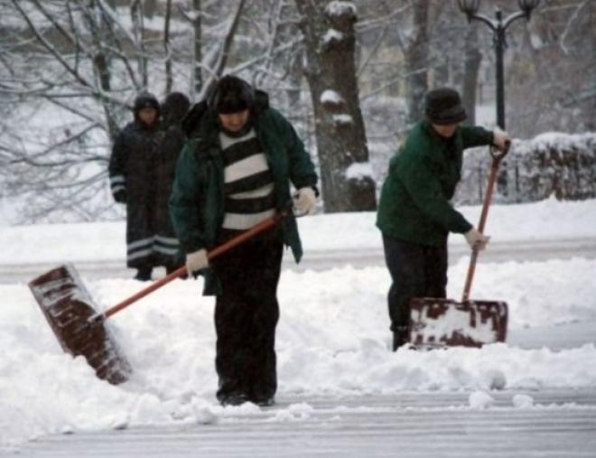 В Самарской области осужденным будут платить 10 тысяч рублей за чистку дорог