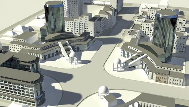 В Самаре завершают строительство первого пятизвёздочного отеля