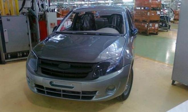 Немцы увидят первыми Lada Granta в новой комплектации