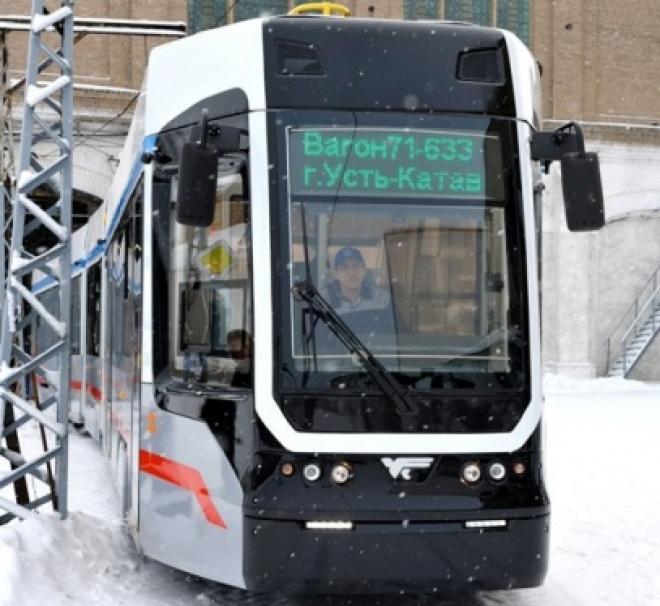 В Самару отправят первый низкопольный трехсекционный трамвай