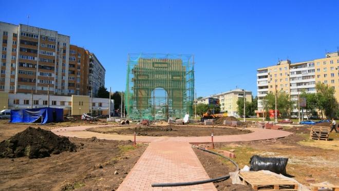 Триумфальную арку в Новокуйбышевске достроят к сентябрю