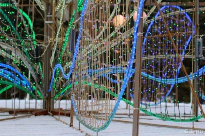 В Самаре восстановят праздничную иллюминацию