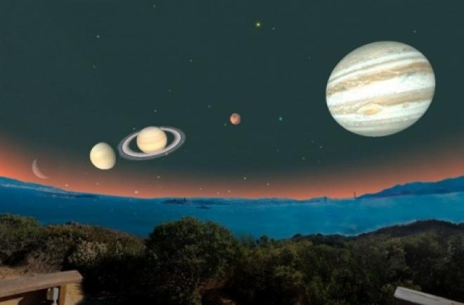 Землю ожидает Парад планет
